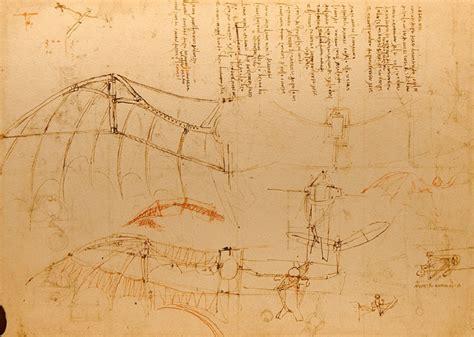 leonardo da vinci biography flying machine design for a flying machine by leonardo da vinci