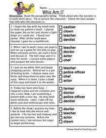 Printable Kwl Chart Inference Worksheet Who