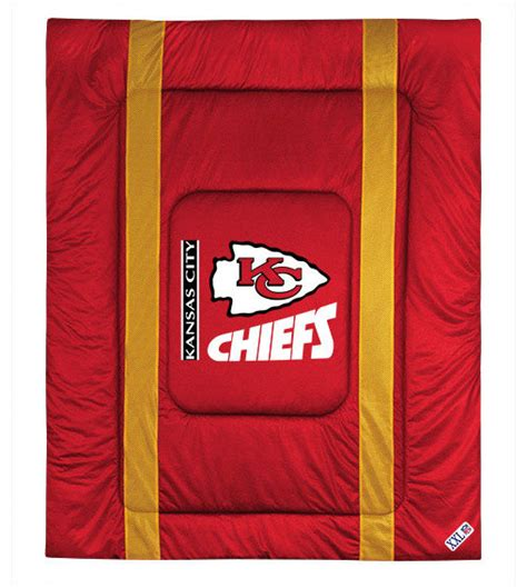 Bunk Beds Kansas City Nfl Kansas City Chiefs Comforter Sideline Football Bed Contemporary Bedding By