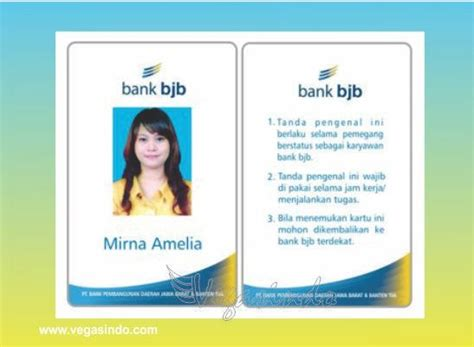 design id card karyawan id card karyawan kartu id pegawai