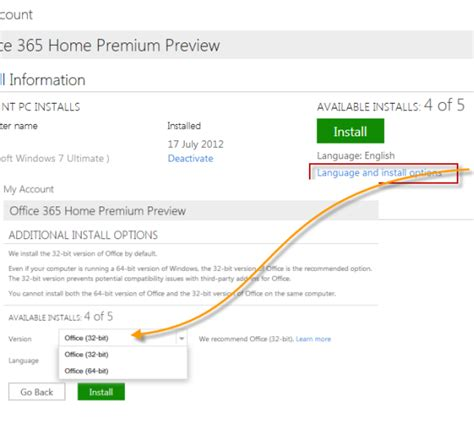 Office 365 X64 Installer How To Install Offcie 2013 Office 365 Home Premium