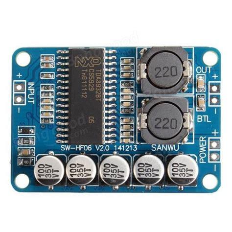 Diy Digital Lifier Board Tda8932 Mono 1 X 35w tda8932 digital lifier board mono 35w low power stereo lifier module sale banggood