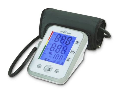 easy home digital arm blood pressure monitor review