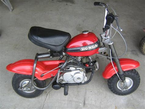 Honda Q50 Mini Bike 1970 Honda Qa50 Mini Bike Tar And Rubber