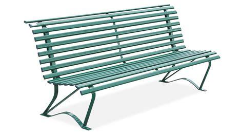 in the panchina panchina realizzata in acciaio zincato per arredo urbano