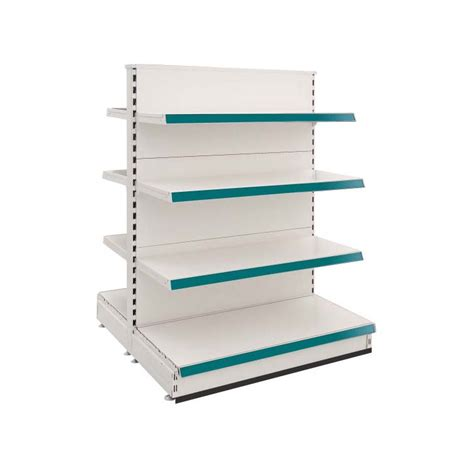 sided gondola shelving unit