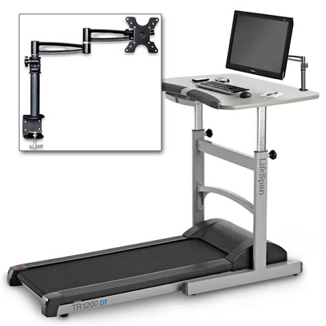stand up desk accessories desktop display mount