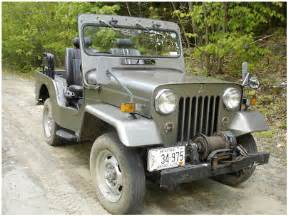 Mitsubishi Willys Jeep 1979 J54 Mitsubishi Diesel Willys Style Jeep For Sale