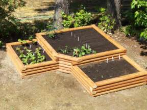 vegetable garden raised bed design self sufficient living
