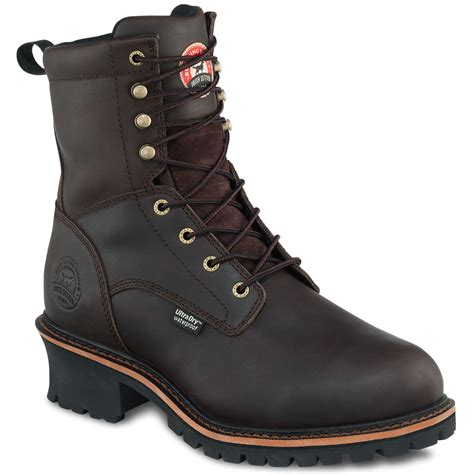 wing boots wing men s setter 8 inch waterproof insulated