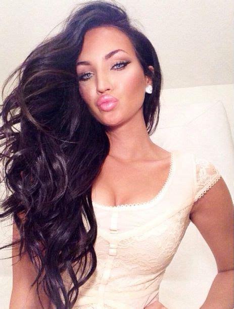 gorgeous long dark hairstyles glam radar
