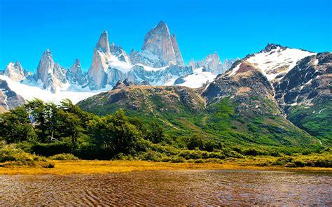 imagenes de otoño en la patagonia banco de im 193 genes monta 241 as nevadas en la patagonia