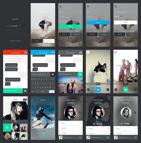 ui layout mockup free design resources ui kits mockups and more