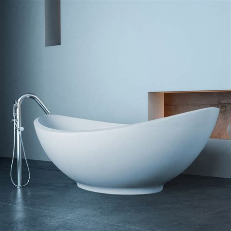 modern lavasca mini freestanding soaker bathtub zuri