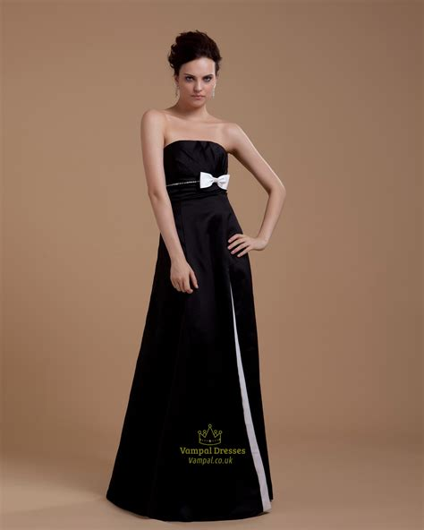 black and white striped strapless maxi dress black and
