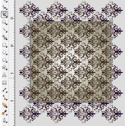 desain batik dengan coreldraw membatik dengan coreldraw desain grafis