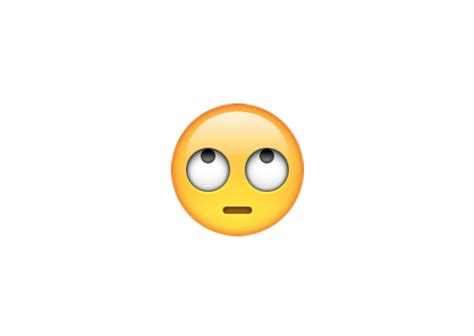 emoji eye roll emoji on twitter quot the new eye roll emoji is perfect for