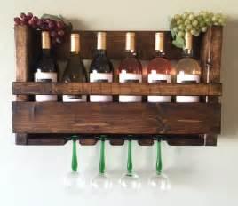 wall mounted wine glass holder
