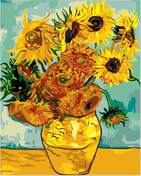 manufacturer famous sunflower painting famous sunflower compare prices on sunflowers painting online shopping buy