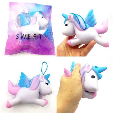 Squishy Model Diskon original kawaii unicorn squishy jumbo rising