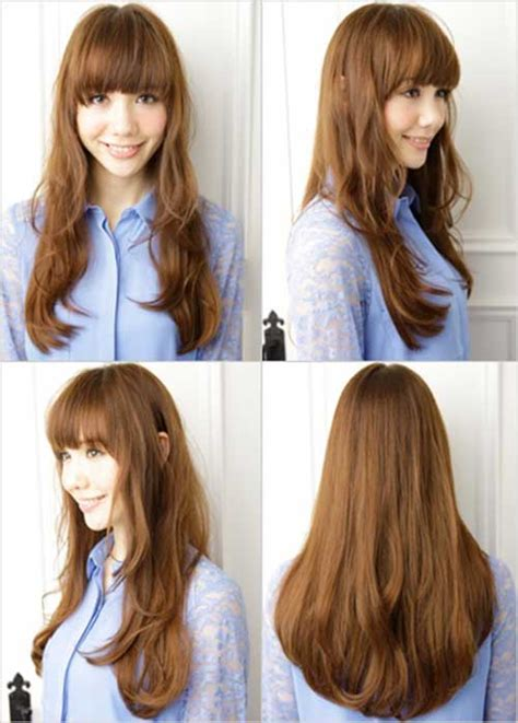 japanese hairstyles for long straight hair 20 asian with long hair hairstyles haircuts 2016 2017