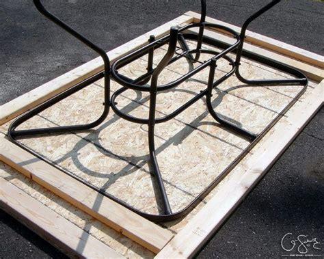 outdoor table tops best 25 patio tables ideas on diy patio