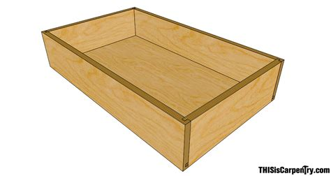 How To Make A Drawer Box Out Of Paper - the quarter quarter quarter drawer system thisiscarpentry