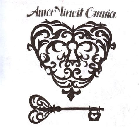 amor vincit omnia tattoo designs vincit omnia by schizophreniclullaby on deviantart