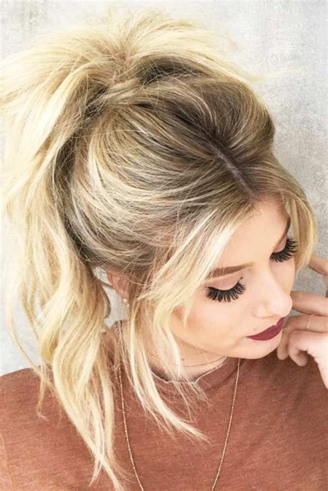 ponytail hairstyles best 20 high ponytail hairstyles ideas on