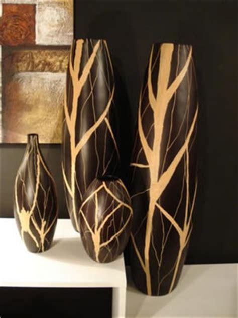 floreros largos de madera floreros para todos los gustos