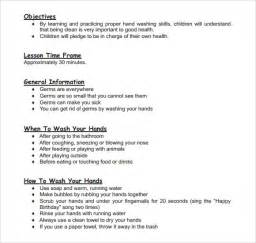 search results for early childhood lesson plan template