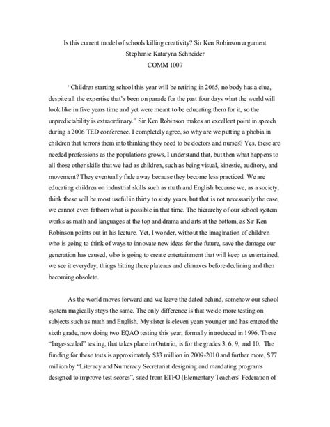 format opinion essay opinion writing sle