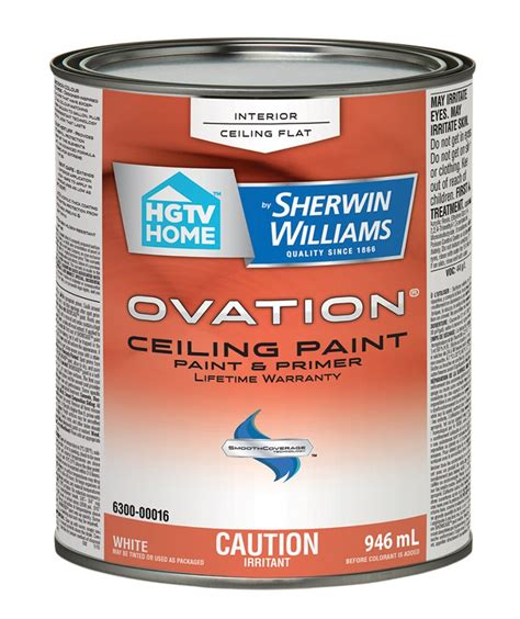 hgtv home by sherwin williams ovation interior flat ceiling paint lowe s canada