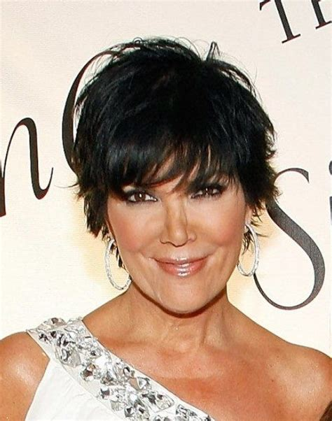 hair cut short like kris kardashian jenner and the technical hairstyles on pinterest kris jenner hairstyles kris