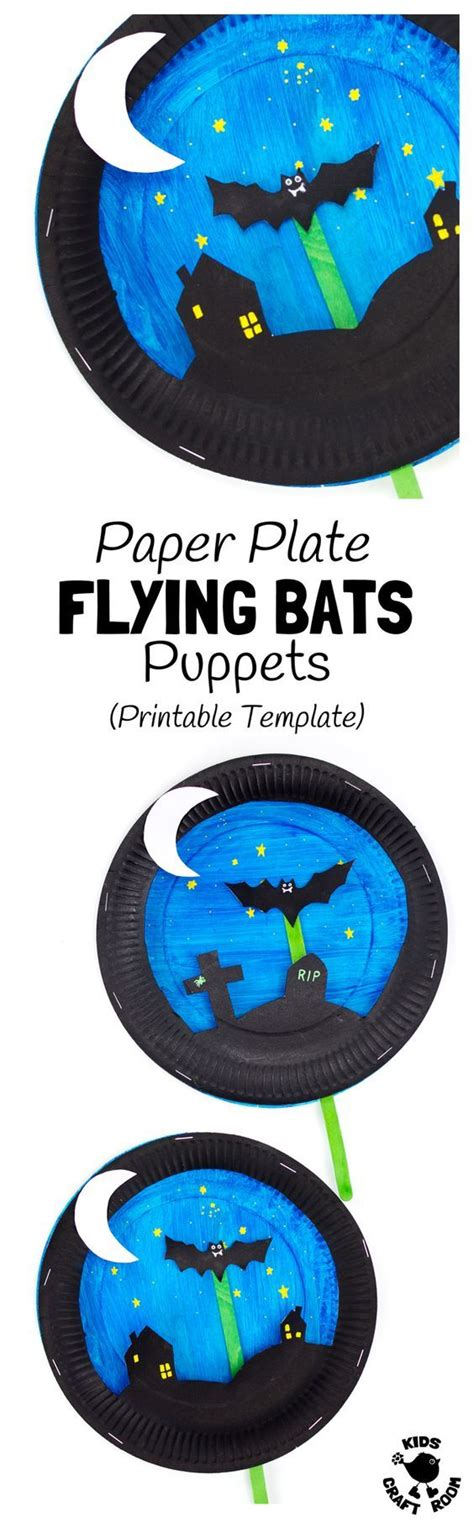 Paper Plate Bat Craft - 25 unique imaginative play ideas on pretend