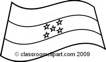 Honduras Flag Outline by World Flags Honduras Flag Bw Classroom Clipart