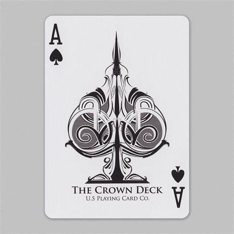 wild card tattoo blue crown cards aceofspades ace of spades