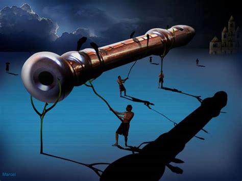 imagenes artisticas surrealistas de musica tocadores de flauta marcel caram marcarambr artelista com