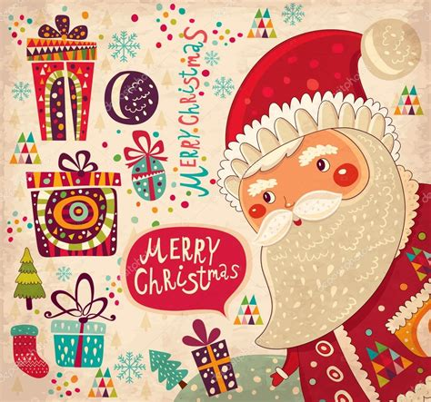 free vintage happy new year greeting cards elves with vintage merry and happy new year card with santa