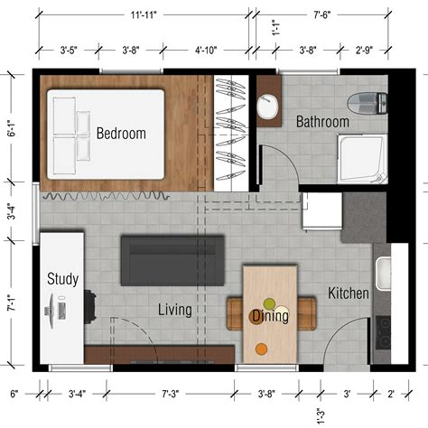 Floor Plan For 500 Sq Ft Apartment | 500 sq ft studio floor plan 500 sq ft studio apartment floor plan slyfelinos house design