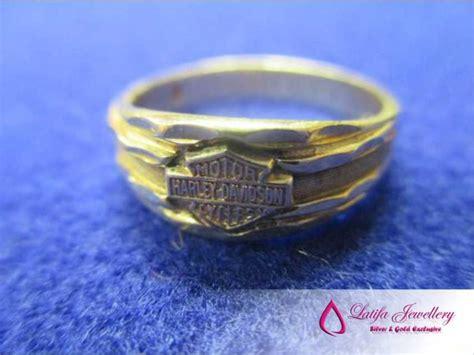 Gelang Kulit Harley Davidson jual perhiasan harly davidson emas putih cincinmurah