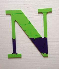 letras decoradas hulk baby eli on pinterest yo gabba gabba boy rooms and