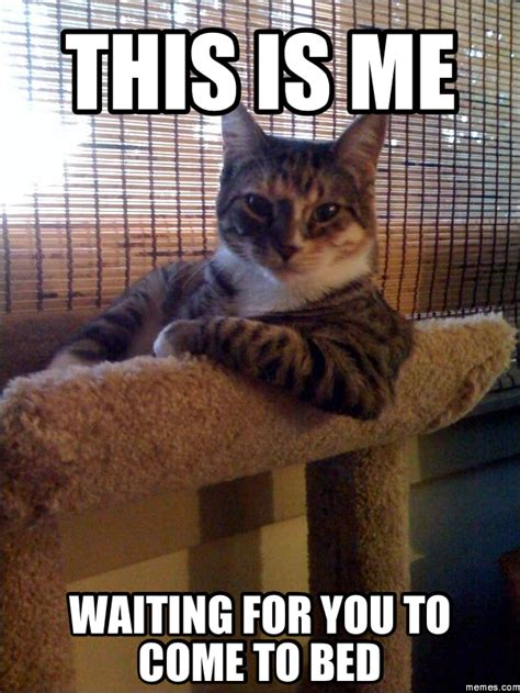 Bed Memes - this is me waiting for you to come to bed memes com