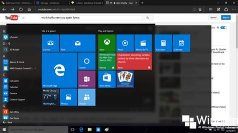 wallpaper windows 10 build 10147 review leak windows 10 insider preview build 10147 winpoin