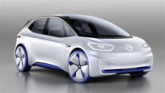 China Risks Electric Car Shakedown Volkswagen Unveils Its Distance Electric Car