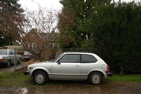 1979 Honda Civic Hatchback Parked Cars 1979 Honda Civic