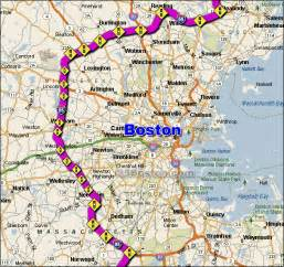 Boston Traffic Map by I 95 Boston Traffic Maps And Road Conditions