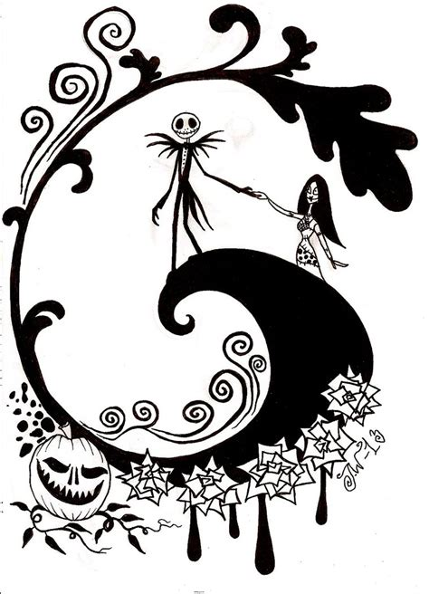 The Nightmare Before Christmas Jack Coloring Pages Www The Nightmare Before Coloring Pages