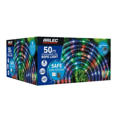 bunnings arlec arlec 50m coloured led rope light compare