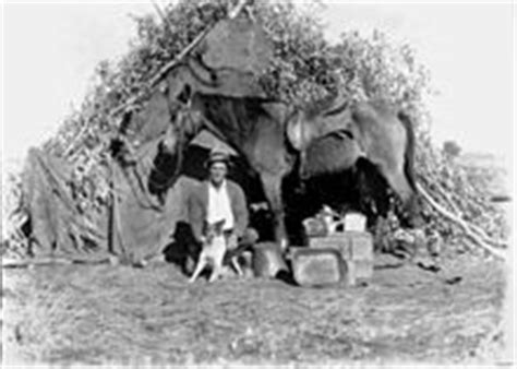 file statelibqld 1 113072 bushman with his dog and horse frontier wikipedia